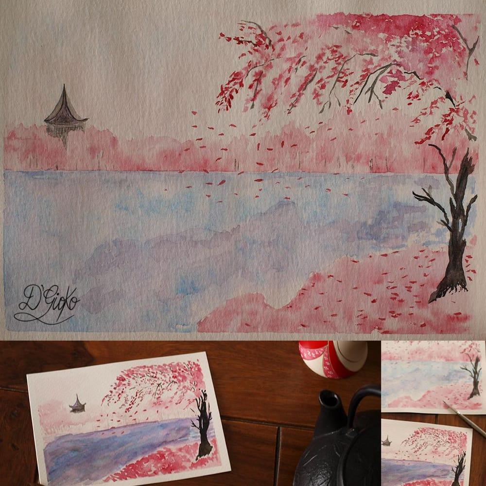 Spring Landscape - image 2 - student project