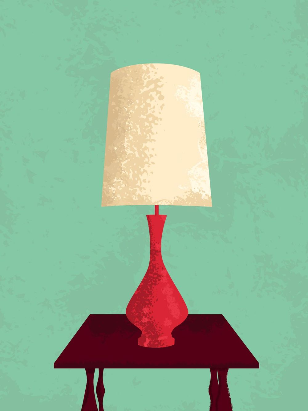 VINTAGE LAMP - image 1 - student project