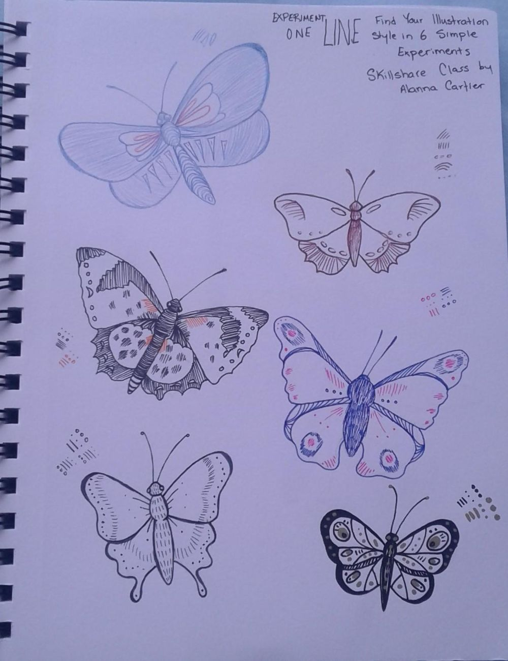 Finding My Illistration Style in 6 Simple Experiments - image 1 - student project