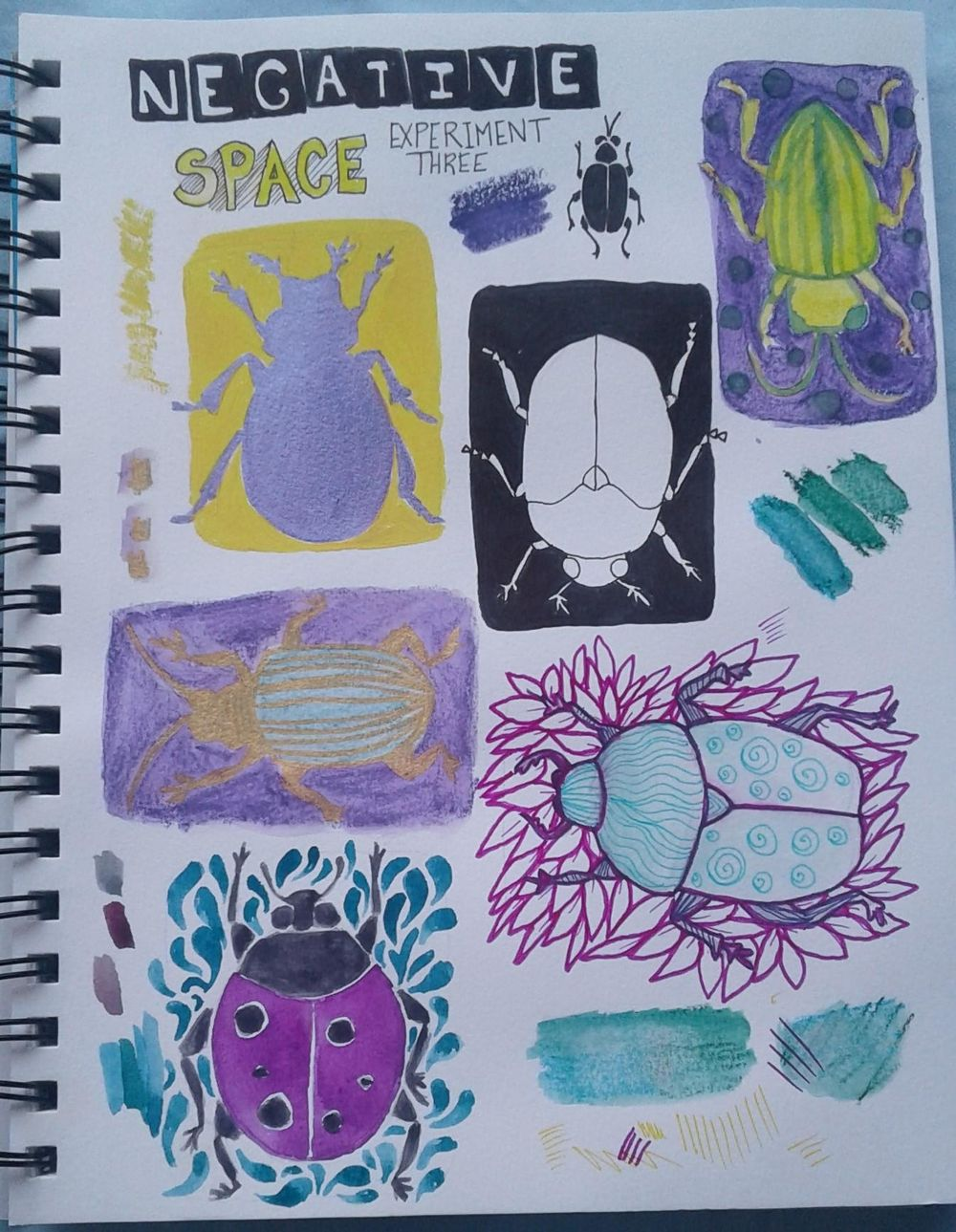 Finding My Illistration Style in 6 Simple Experiments - image 3 - student project