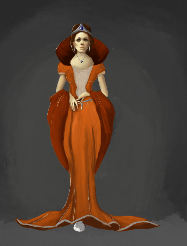 queen -concept art - image 1 - student project