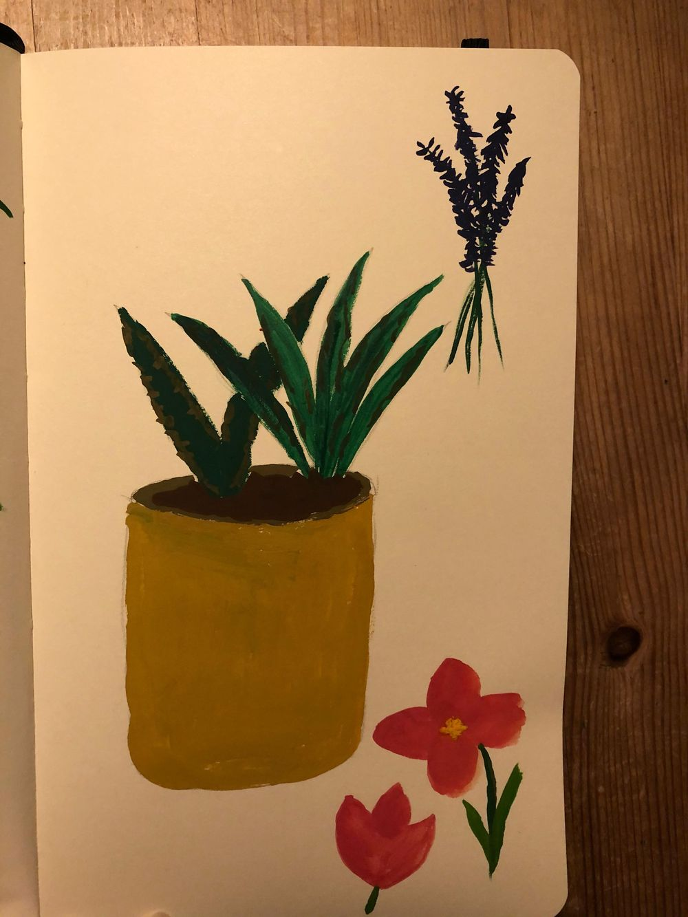 I try Gouache for the first time! - image 3 - student project