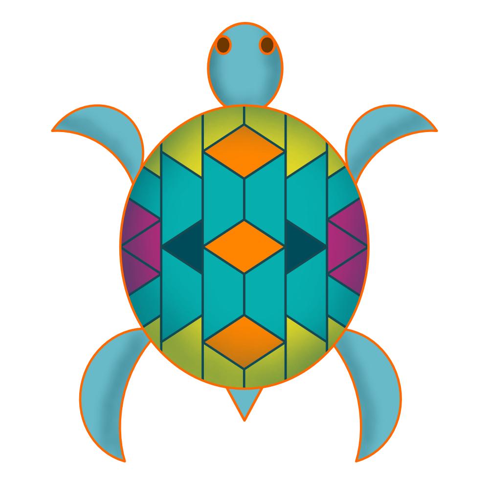 Southwestern Turtle - image 1 - student project