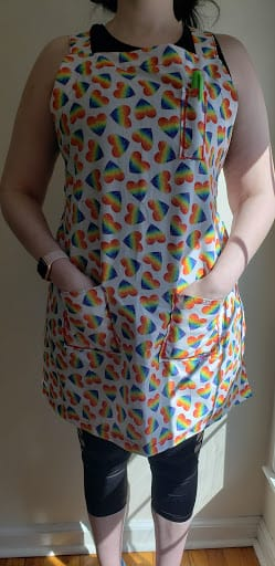 Zipper pouch &  The Apron - image 1 - student project