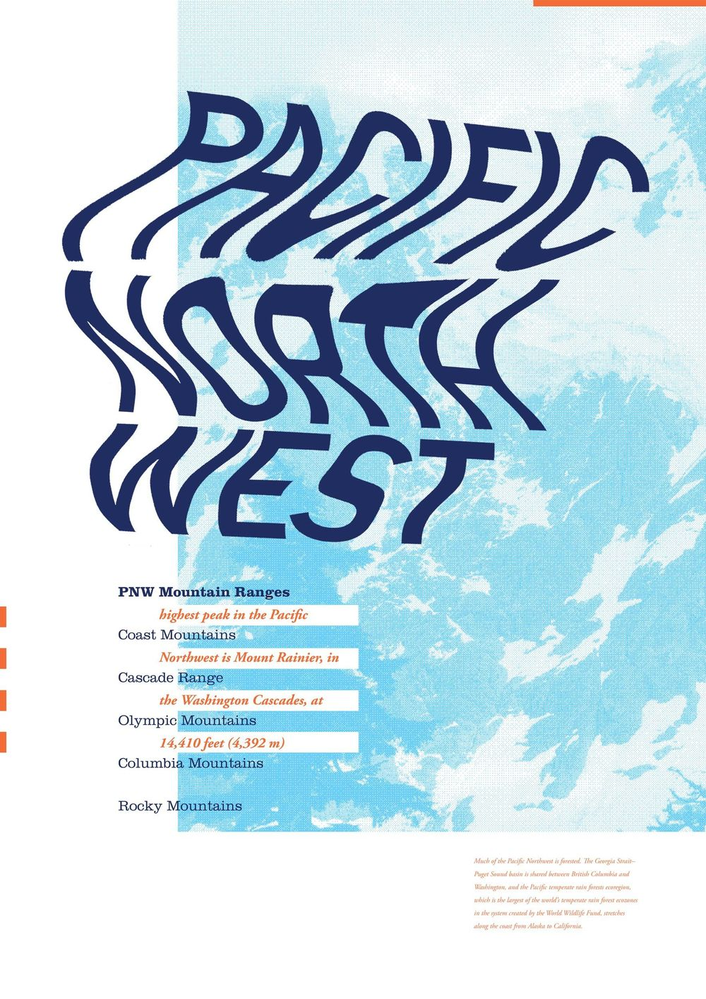 Poster on Pacific Northwest - image 1 - student project