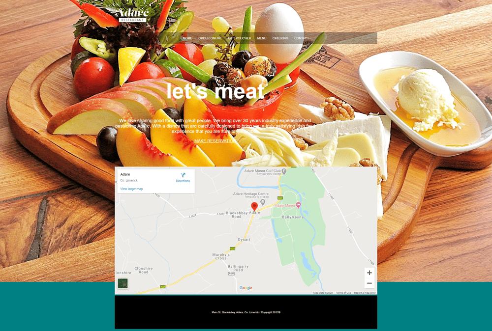 Restaurant website - image 1 - student project
