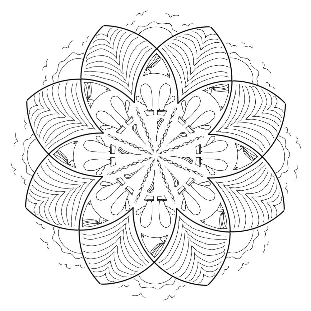 My plain mandala - image 1 - student project