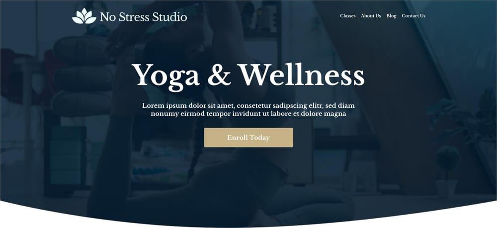 No Stress Studio - image 1 - student project