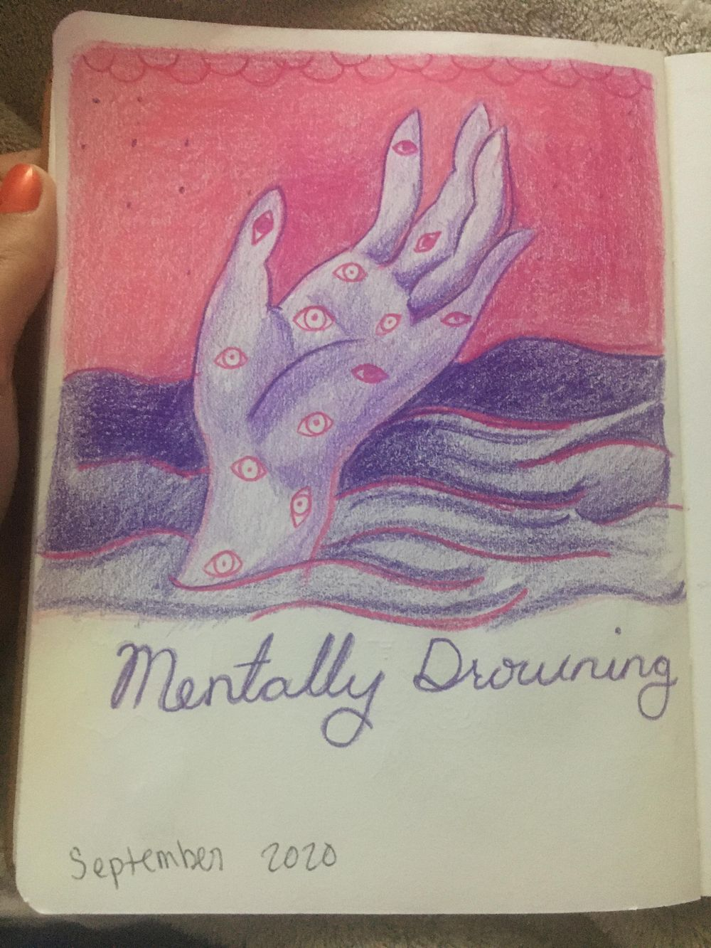Mentally Drowning - image 2 - student project