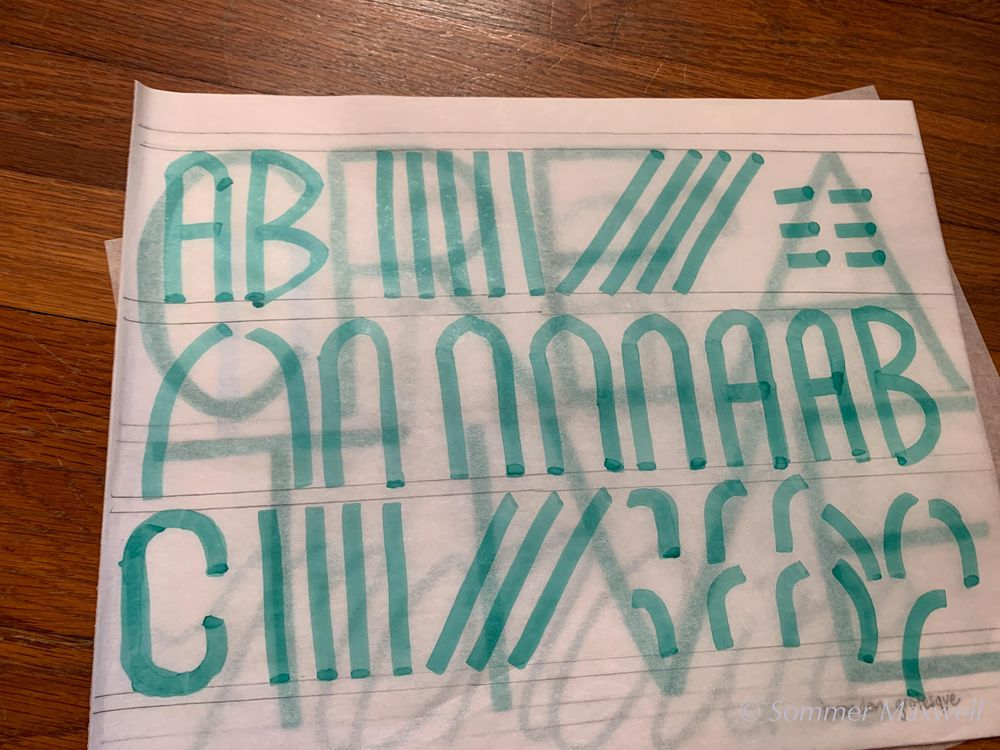 Envelope Lettering - image 2 - student project
