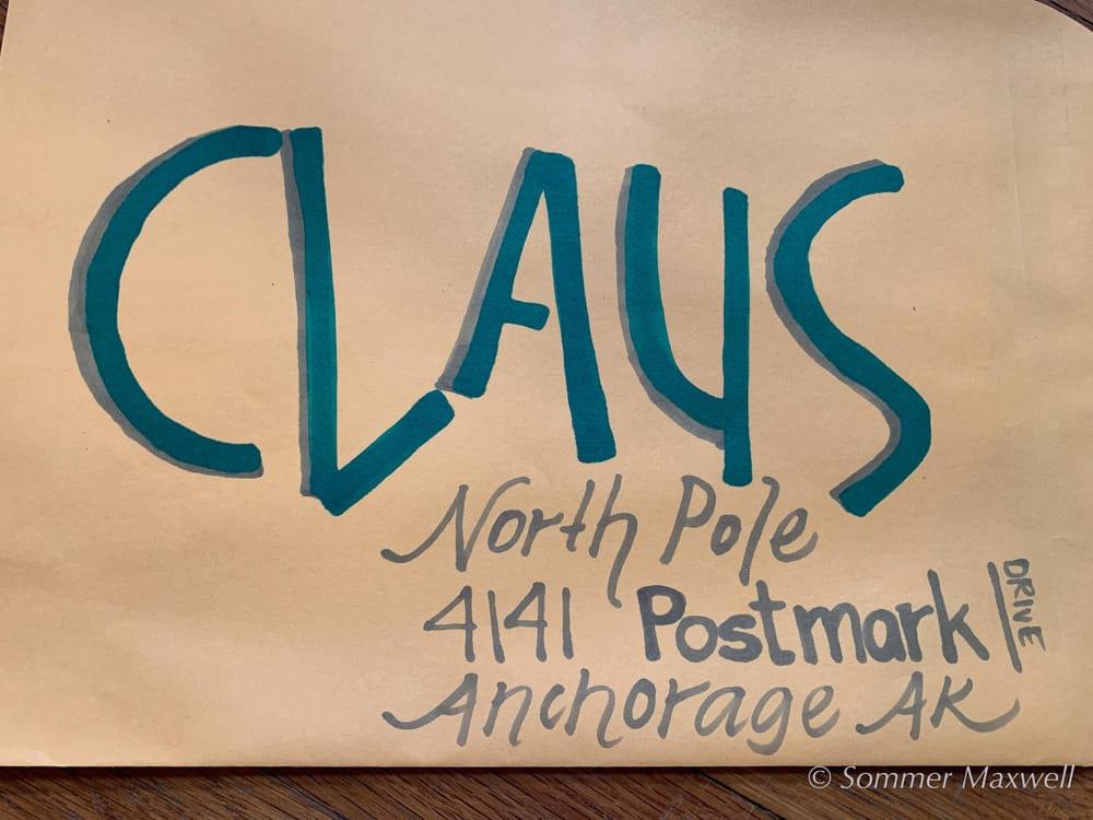Envelope Lettering - image 5 - student project