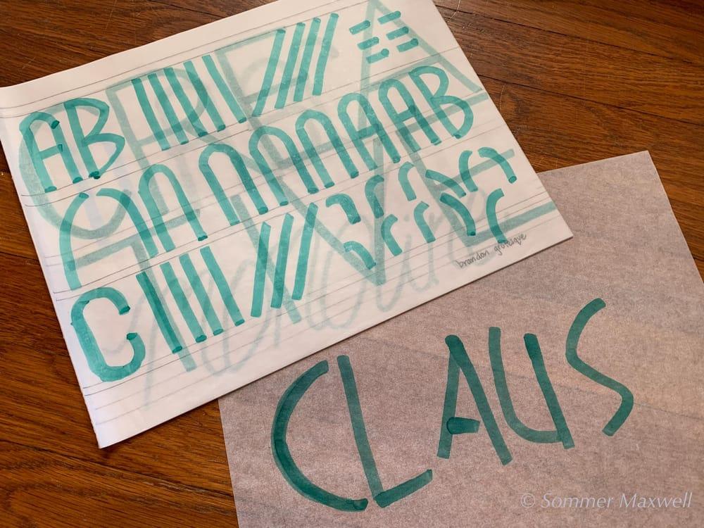 Envelope Lettering - image 1 - student project