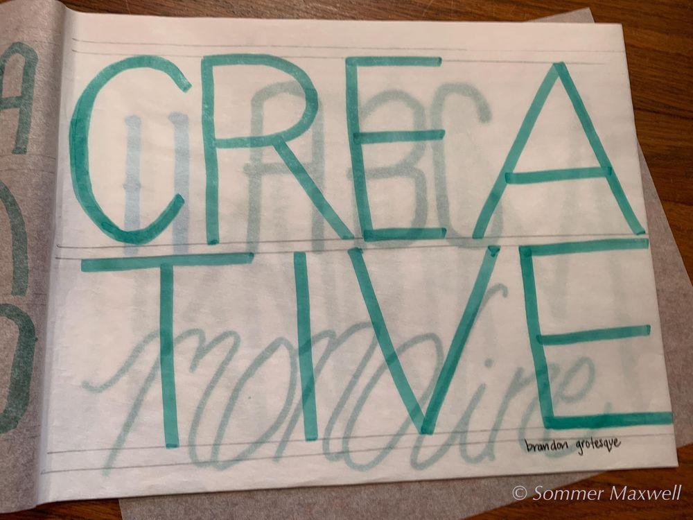 Envelope Lettering - image 3 - student project
