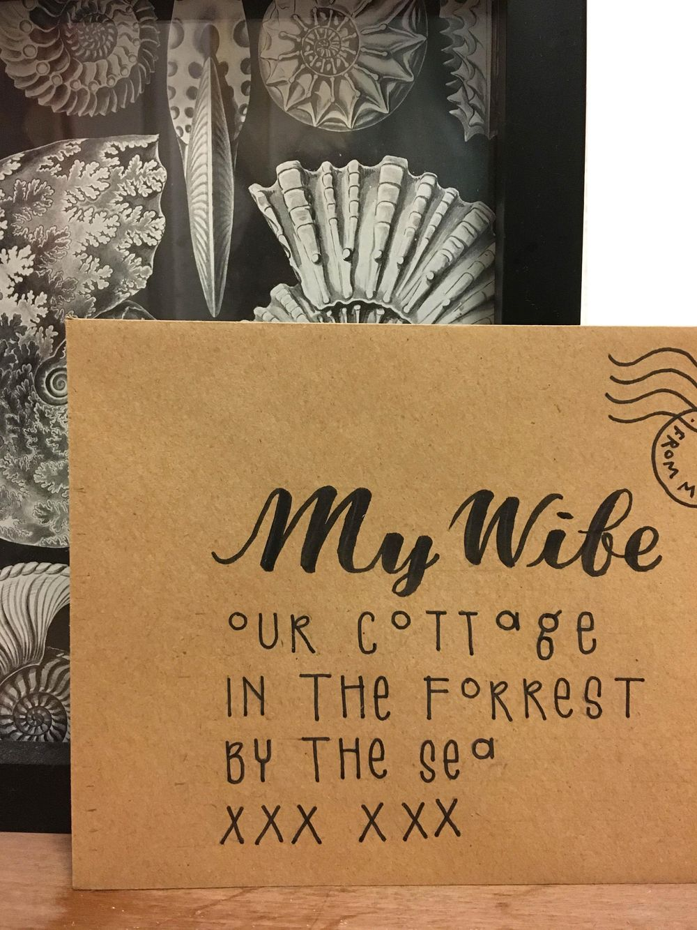 Letter to my Wife - image 1 - student project