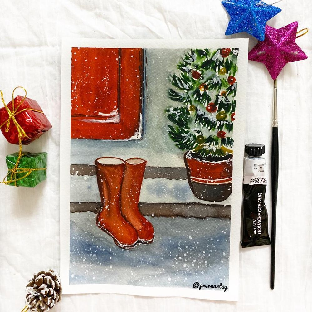CHRISTMASSY VIBE with Mystique: MY VERSION - image 7 - student project