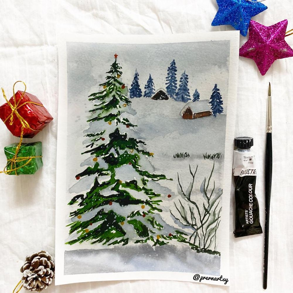 CHRISTMASSY VIBE with Mystique: MY VERSION - image 18 - student project