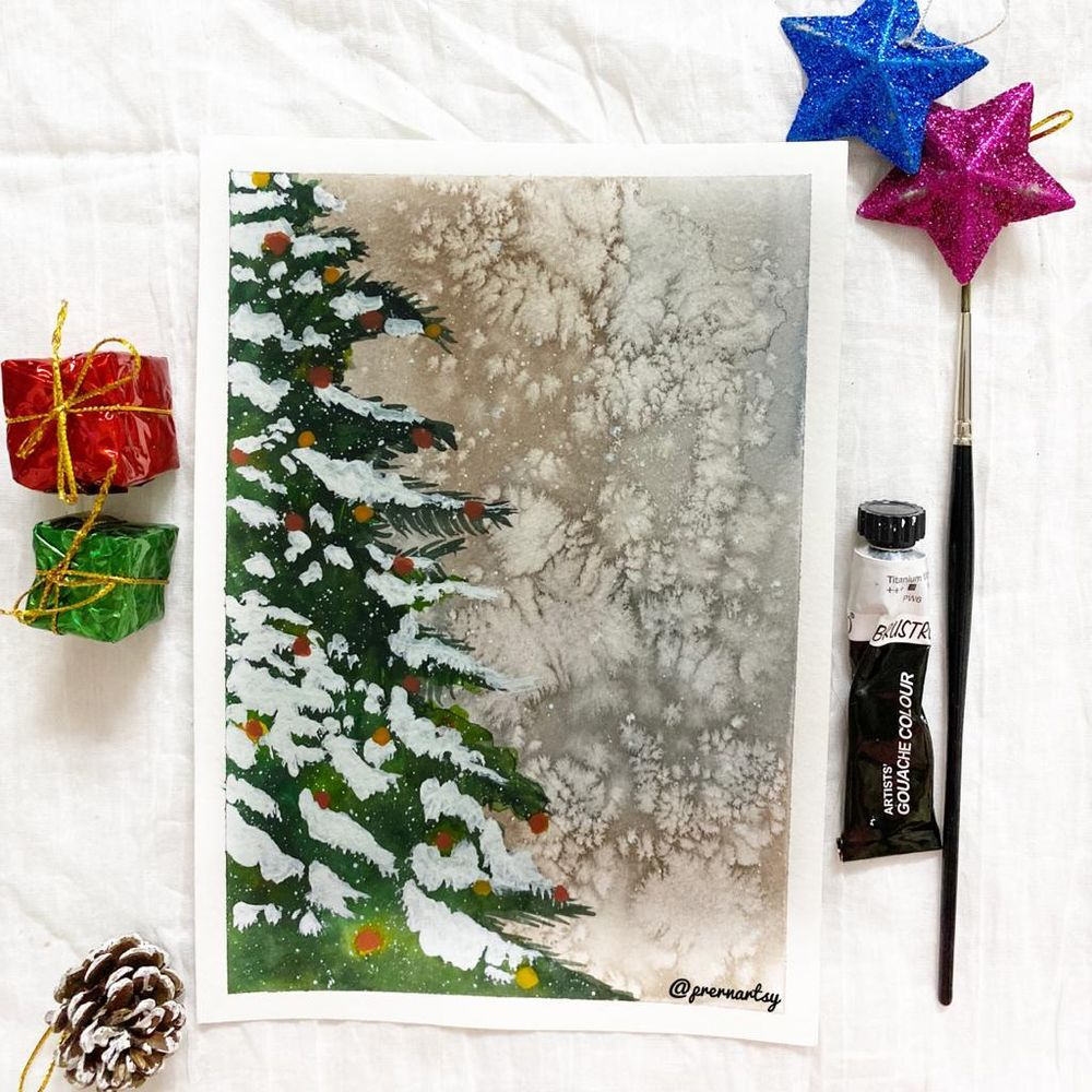 CHRISTMASSY VIBE with Mystique: MY VERSION - image 2 - student project