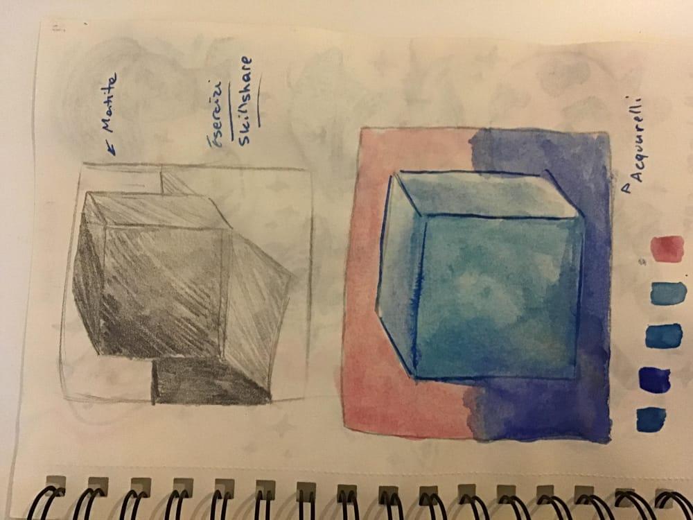 Ma watercolors art! - image 2 - student project