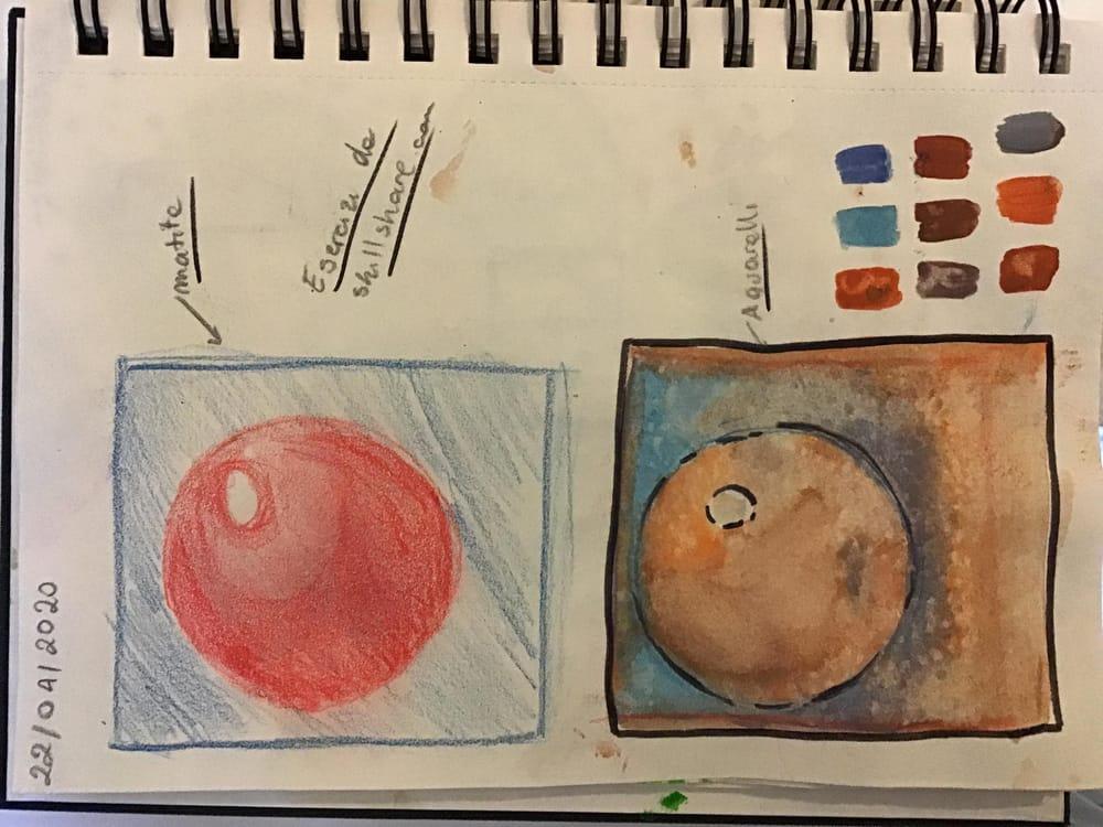 Ma watercolors art! - image 1 - student project