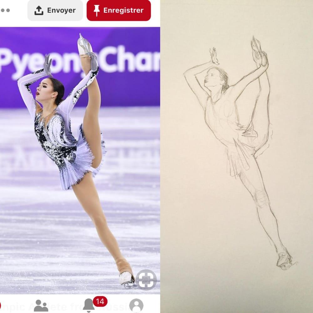 figure skater - image 1 - student project