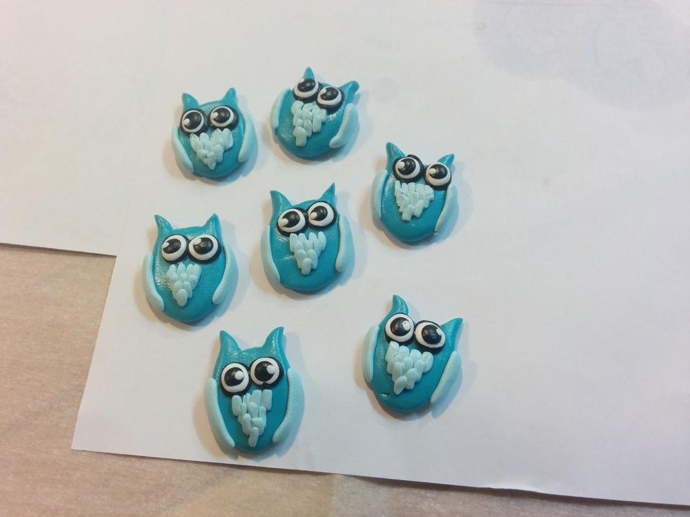 Polymer Clay Owls - image 2 - student project