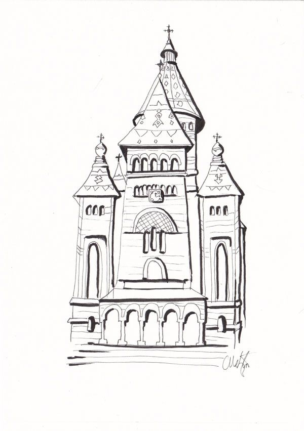 Timișoara Orthodox Cathedral - image 2 - student project