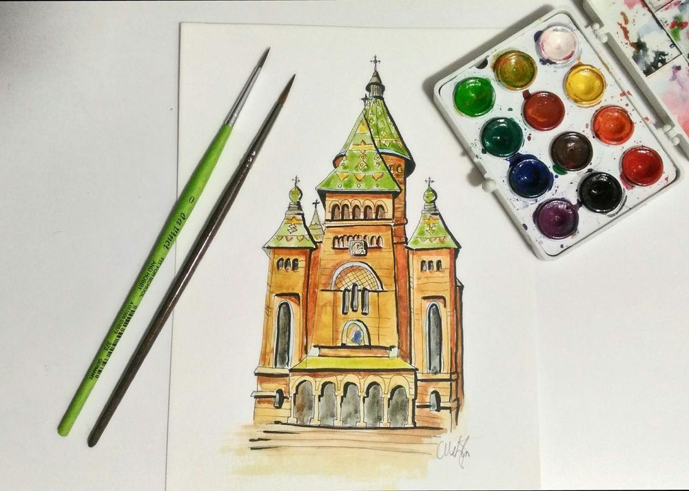 Timișoara Orthodox Cathedral - image 3 - student project