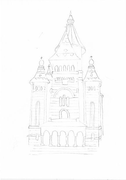 Timișoara Orthodox Cathedral - image 1 - student project