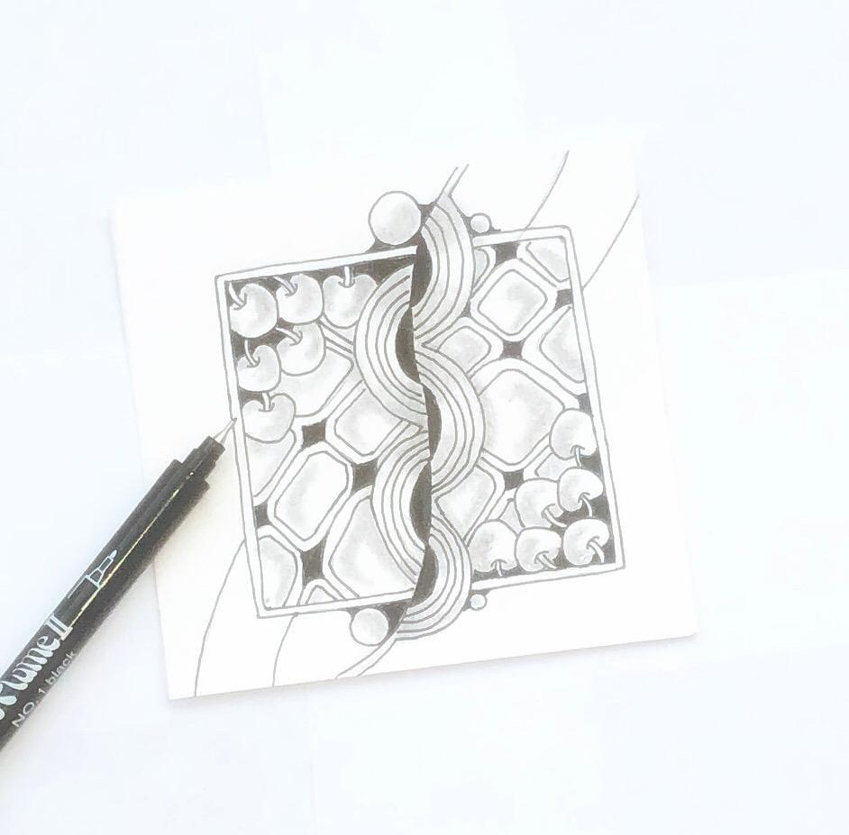 Zentangle - image 1 - student project