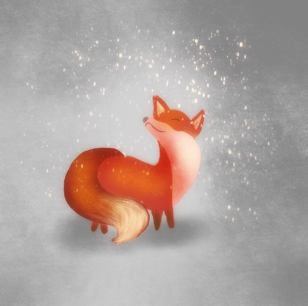 Fox illustration - image 1 - student project