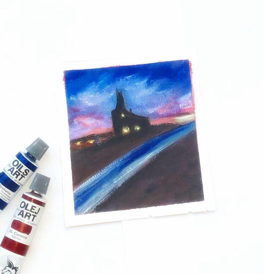 Impressionist landscape Focal point - image 1 - student project