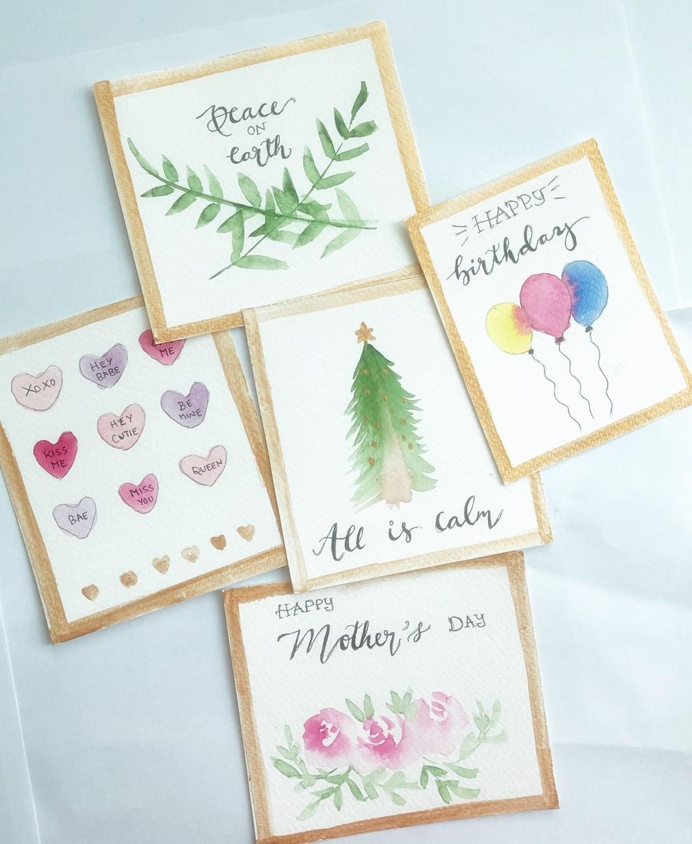 Handmade cards - image 1 - student project