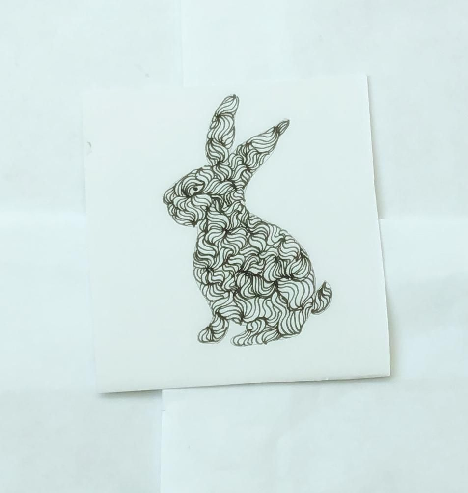 Stylized bunny - image 1 - student project