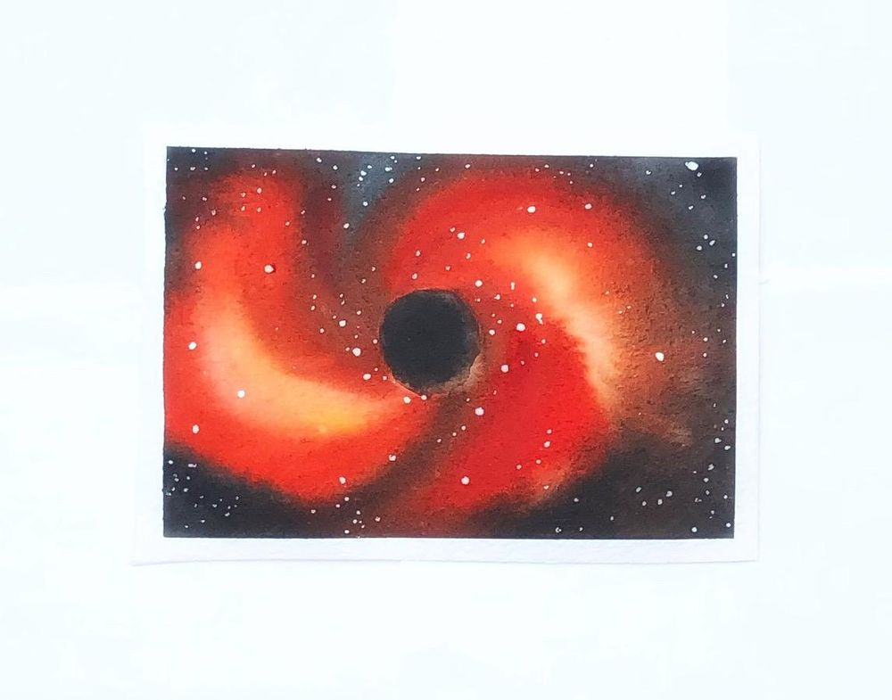Watercolor Vortex - image 1 - student project