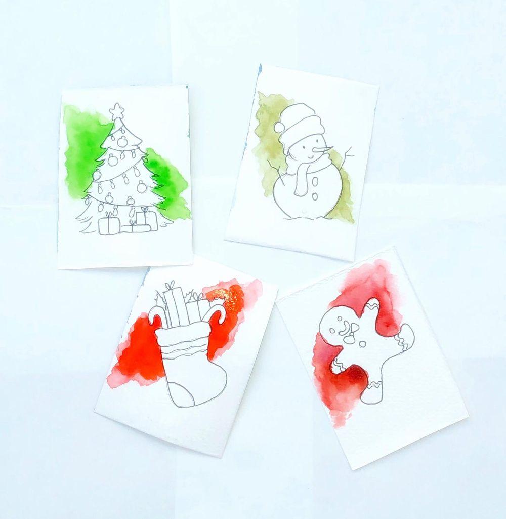 Watercolor splash - image 1 - student project