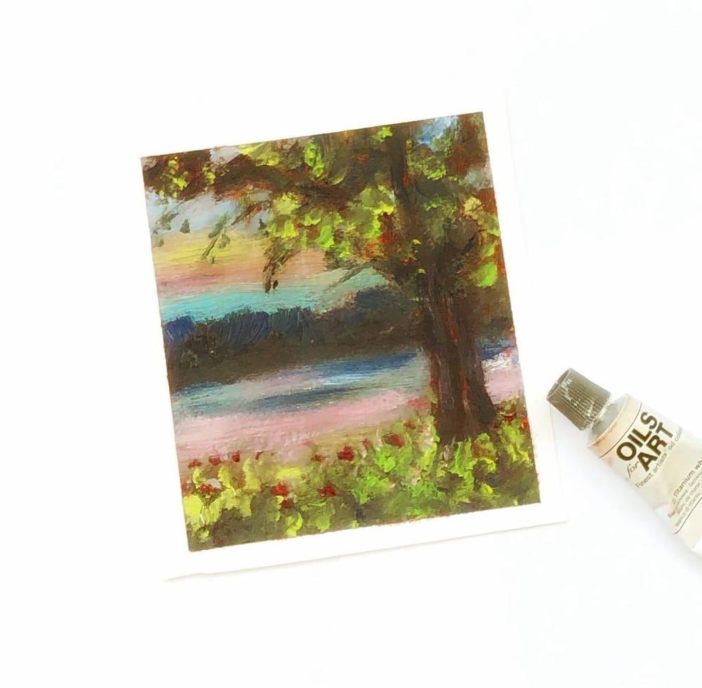 Impressionist landscape - image 1 - student project
