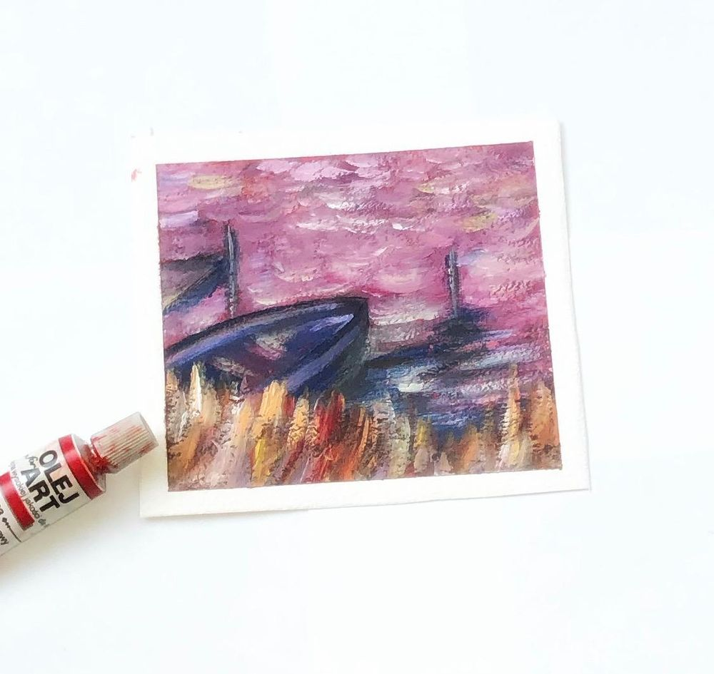 Impressionist landscape- composition - image 1 - student project