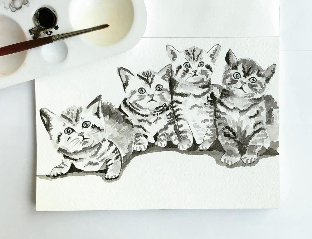 Inky Kitties - image 1 - student project