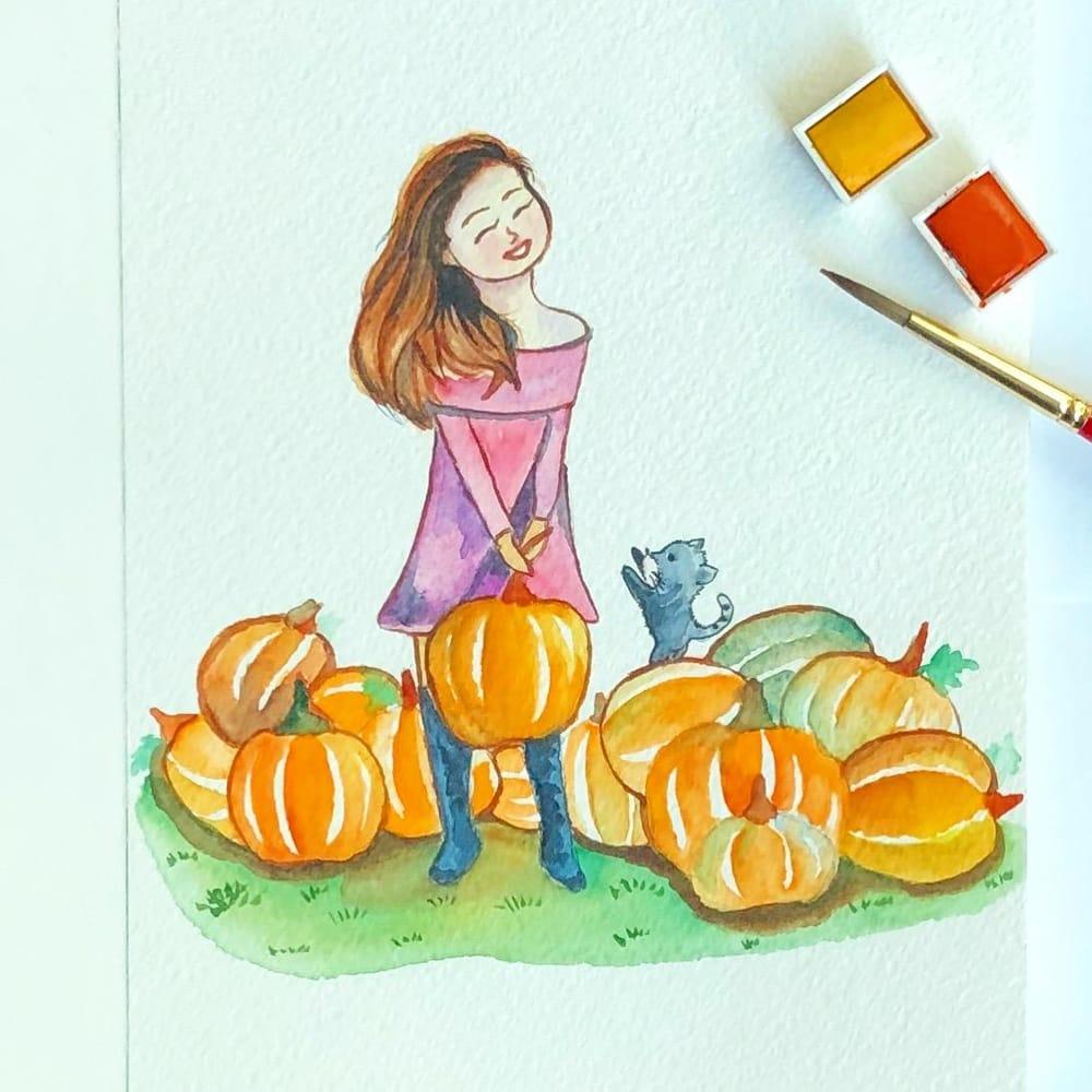 Pumpkin Patch - image 1 - student project