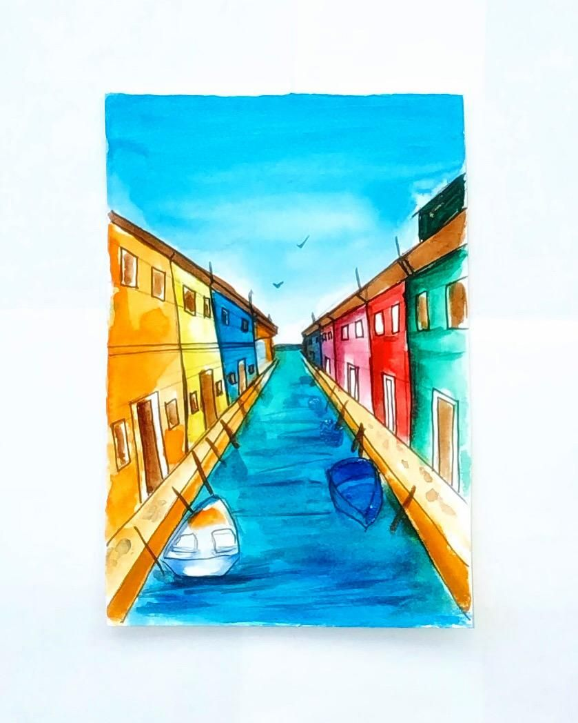 One point perspective - image 1 - student project