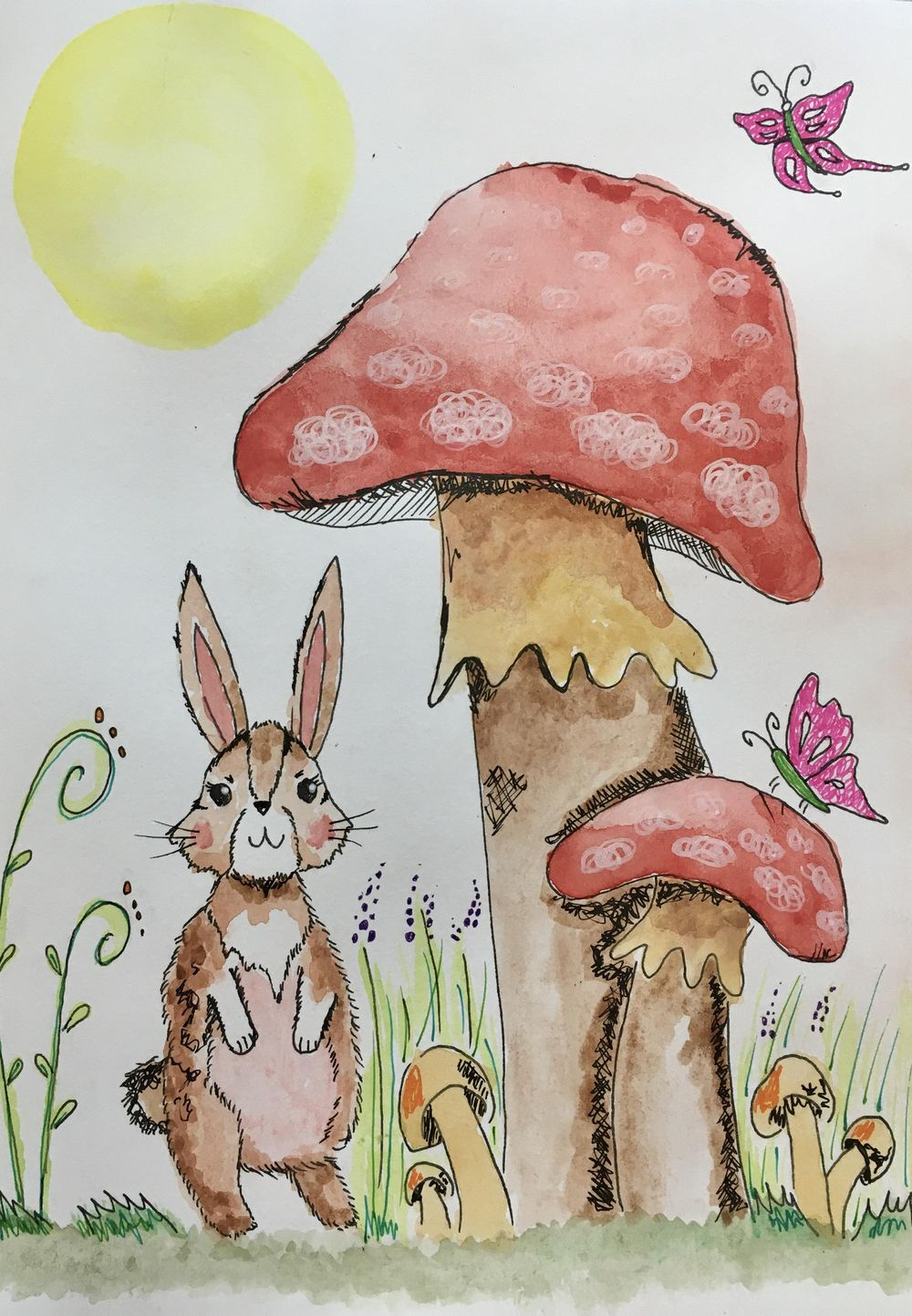 cute little bunny - image 2 - student project