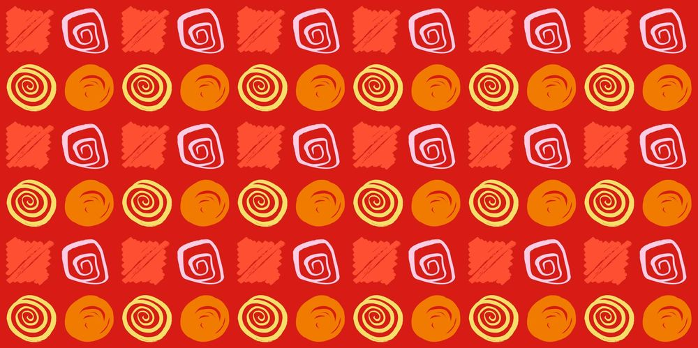 Seamless Patterns From Abstract Handmade Marks - image 23 - student project