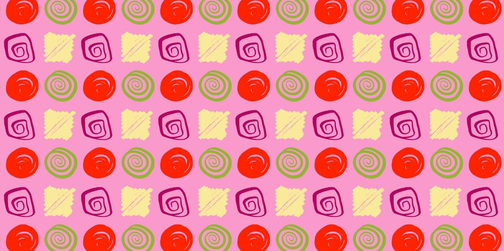 Seamless Patterns From Abstract Handmade Marks - image 21 - student project