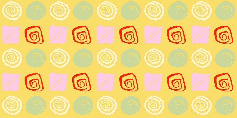 Seamless Patterns From Abstract Handmade Marks - image 20 - student project