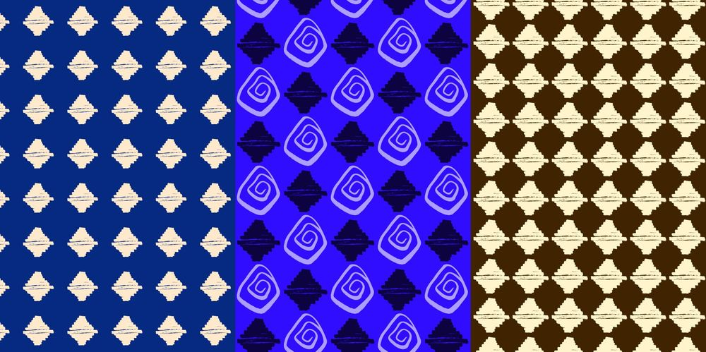 Seamless Patterns From Abstract Handmade Marks - image 5 - student project