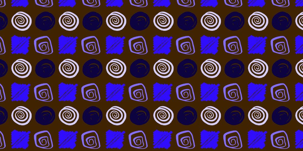 Seamless Patterns From Abstract Handmade Marks - image 8 - student project