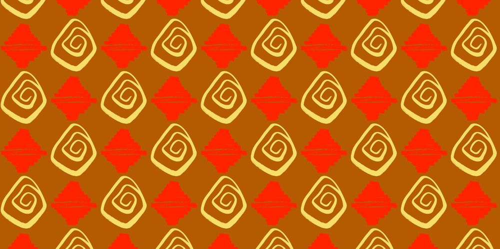 Seamless Patterns From Abstract Handmade Marks - image 13 - student project