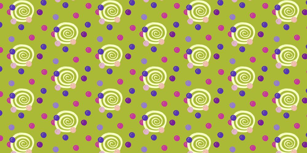 Seamless Patterns From Abstract Handmade Marks - image 16 - student project