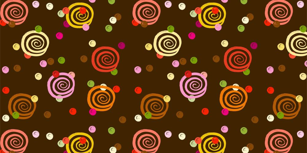 Seamless Patterns From Abstract Handmade Marks - image 19 - student project