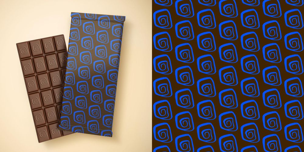 Seamless Patterns From Abstract Handmade Marks - image 2 - student project